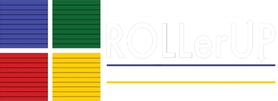 RollerUp - Custom Shutters Logo