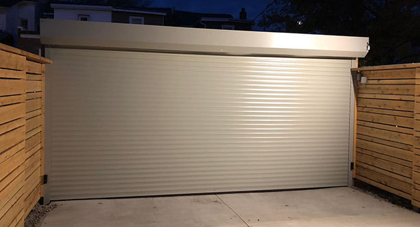 Custom Rollup garage doors