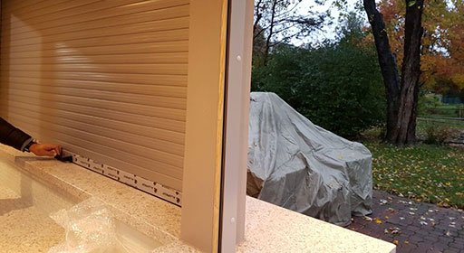 Patio Roll Up Shutters
