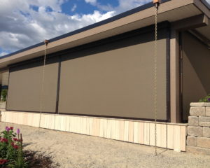 Residential Shade Screen For Outdoors