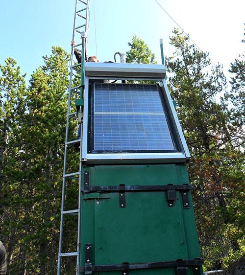 Custom Roller Shutter solar panel