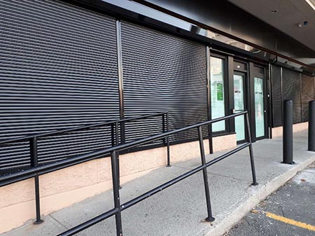 Cannabis Dispensaries Security Shutters | ROLLerUP