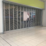 mall retail security grilles