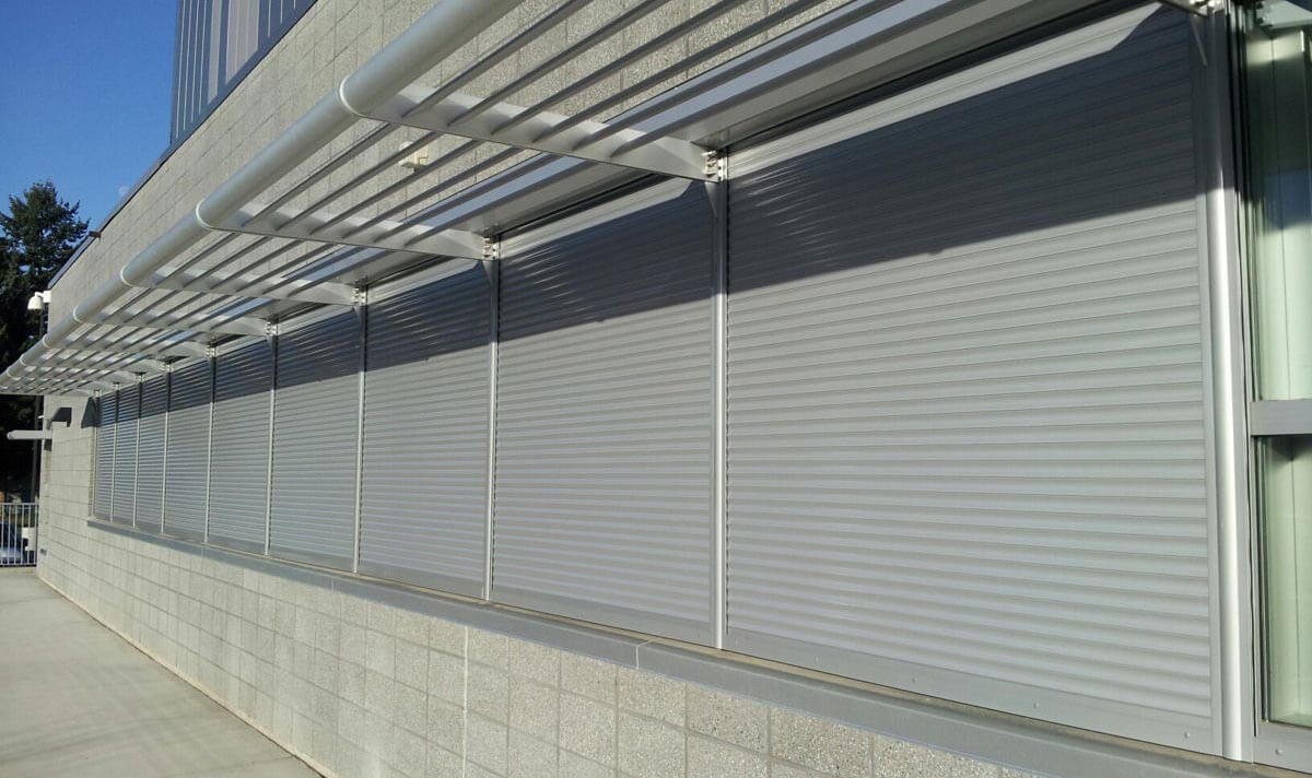 Rolling Fire Shutter Installation For Windows Doors