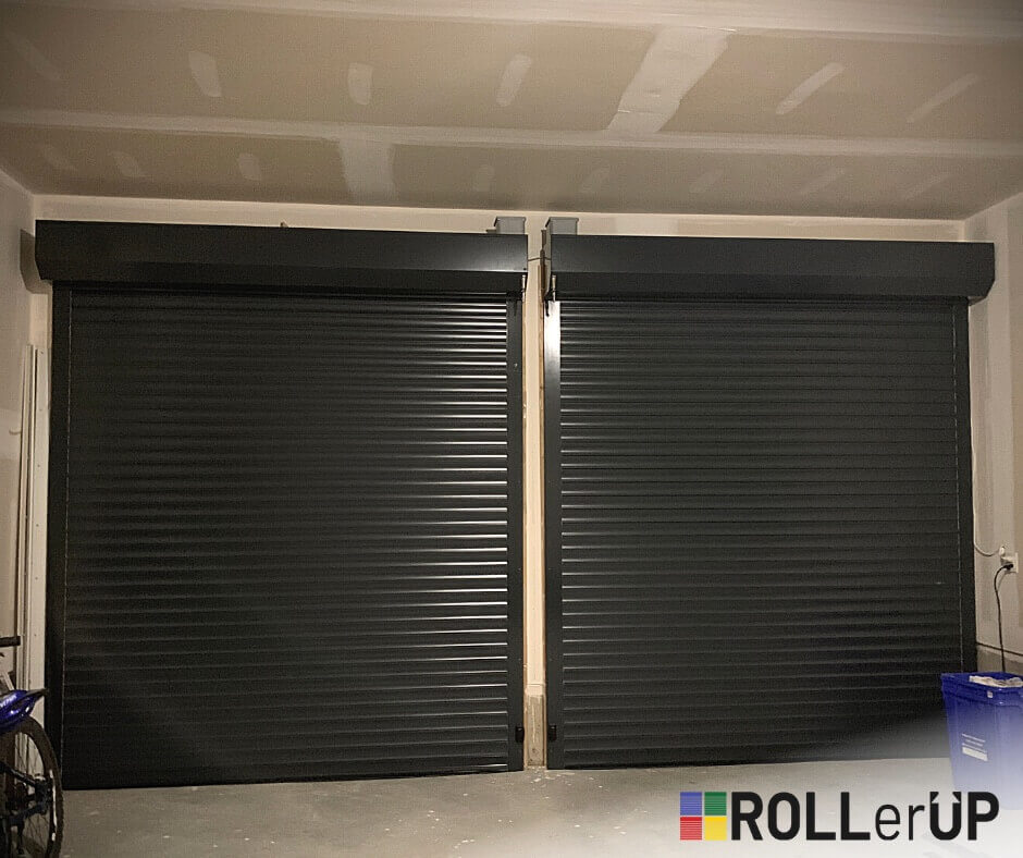 Garage Door Shutter View From Inside 1